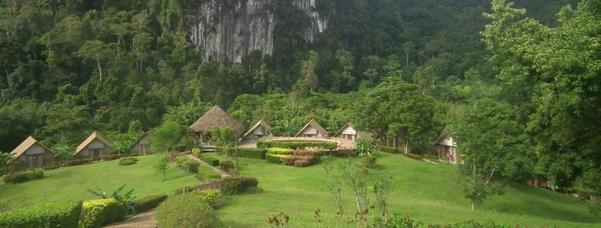 Khao Sok Nationaal Park in Thailand
